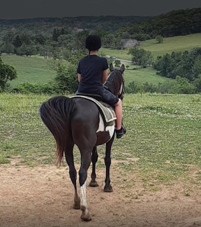 Boy Riding